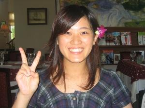 Rena, my amazing interpreter and friend in Taiwan