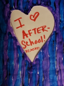 A Valentine from one of our After-School Program students