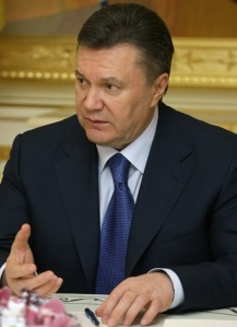 Ousted Former President Viktor Yanukovych.  Photo courtesy of Wikipedia Commons