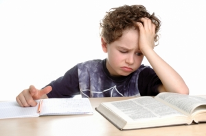 homework kid