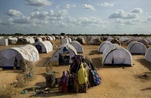 Somali refugee camp in Kenya.  Photo courtesy of UNHCR