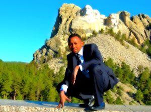 Solomon at Mount Rushmore