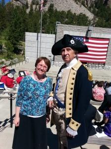 Julia and George Washington