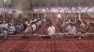 Muslims in Turkey observing Ramadan.  (Photo courtesy of euronews.)