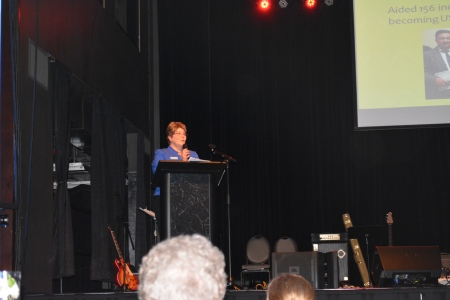 CEO Betty Oldenkamp addressed the guests.