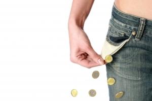 empty pocket