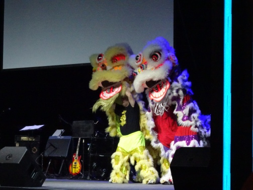 lion dance TOC