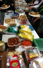 thanksgiving potluck food