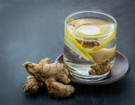 ginger-and-lemon-water
